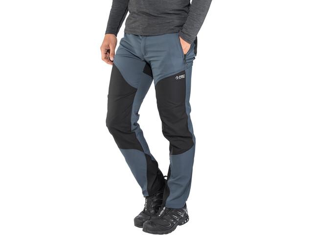 Directalpine Patrol 4.0 Pantalones Hombre, greyblue/black